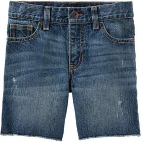 Osh Kosh Oshkosh Bgosh Boys 4-12 Cut Off Denim Shorts