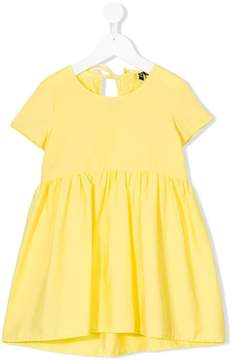 European Culture Kids short-sleeve flared dress