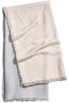 H&M Large scarf - White