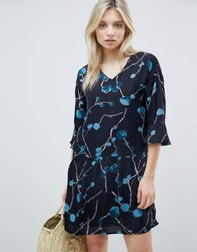 B.young Abstract Floral Dress