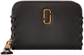 Marc Jacobs Noho Zip Card Case Credit card Wallet - BLACK - STYLE