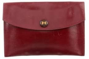 Hermes Box Pochette Rio - BURGUNDY - STYLE