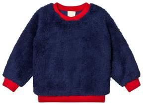 Mini Rodini Blue Pile Sweater