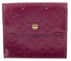 Louis Vuitton Vernis Elise Wallet - PURPLE - STYLE