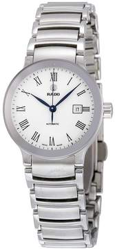 Rado Centrix Automatic White Dial Stainless Steel Ladies Watch