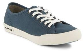 SeaVees Textured Lace-Up Sneakers