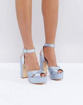 Office Harley Satin Platform Sandals