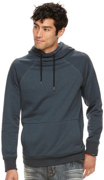 Rock & Republic Big & Tall Textured Cross-Over Hoodie