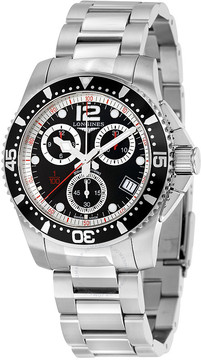 Longines HydroConquest Chronograph Black Dial Men's Watch L37434566