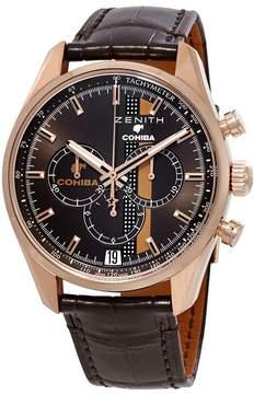 Zenith Chronomaster El Primero LEGEND OF COHIBA 18kt Rose Gold Men's Watch