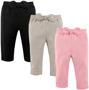 Hudson Baby Pink & Gray Joggers Set - Infant, Toddler & Girls