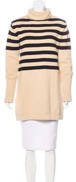 For Love & Lemons Knit Turtleneck Dress