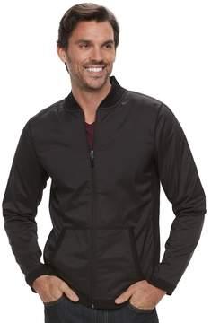 Marc Anthony Men's Slim-Fit Mixed Media Bomber Jacket