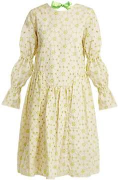 DAY Birger et Mikkelsen SHRIMPS Peggy floral-embroidered cotton-blend dress