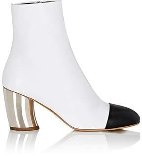Proenza Schouler Women's Curved-Heel Leather Boots