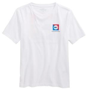 Vineyard Vines Boy's Burgee Logo Graphic T-Shirt