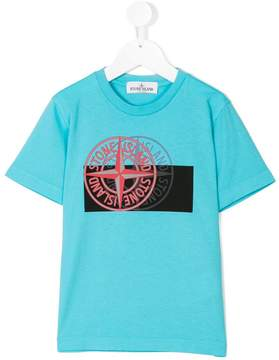 Stone Island Junior printed logo T-shirt