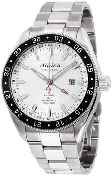 Alpina Alpiner AL550S5AQ6B Stainless Steel Automatic 44mm Mens Watch