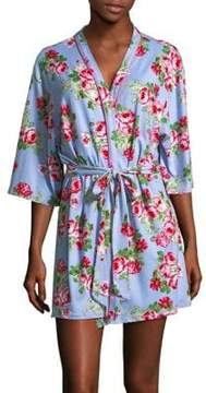 Flora Nikrooz Flora By Floral Knit Robe