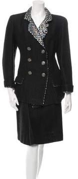 Chanel Embellished Skirt Suit