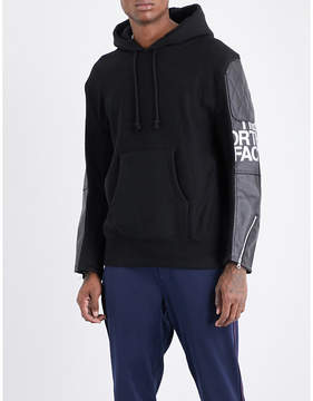 Junya Watanabe x The North Face cotton-jersey hoody