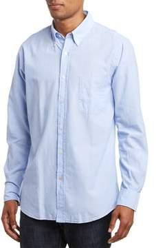 J.Mclaughlin Wythe Woven Trim Fit Shirt.