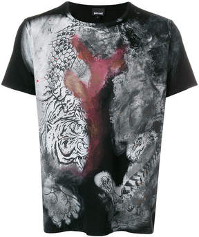 Just Cavalli front printed T-shirt