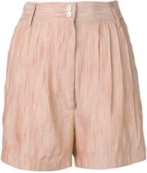 Forte Forte striped linen shorts