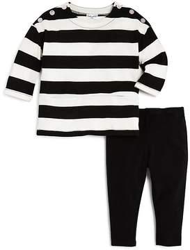 Splendid Girls' Striped Top & Leggings Set - Baby