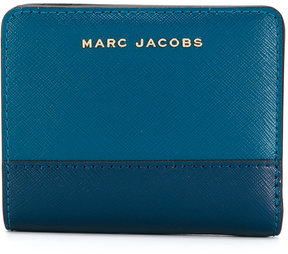 Marc Jacobs colour block compact wallet - BLUE - STYLE