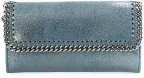 Stella McCartney metallic falabella wallet