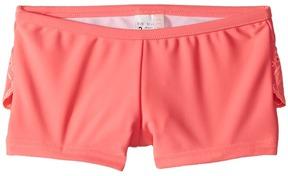 Seafolly Sweet Summer Frill Boyleg Girl's Swimwear