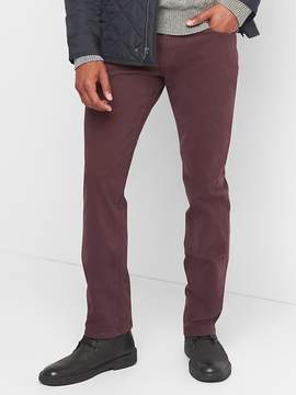 Gap Twill Pants in Slim Fit with Stretch