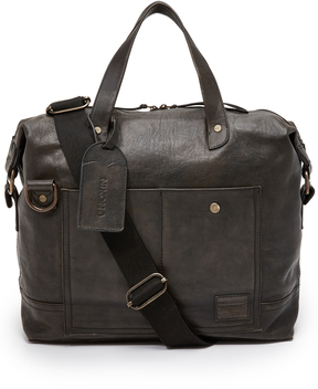 Nixon Calle Leather Briefcase
