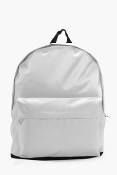 boohoo Monochrome Nylon Backpack