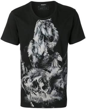 Balmain printed horse T-shirt