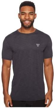 VISSLA Alltime Short Sleeve Heathered Surf Tee UPF 50 Men's Short Sleeve Pullover