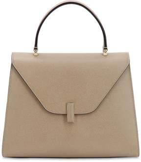 Valextra Large Iside Grain Leather Bag