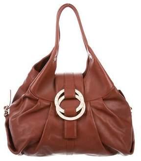Bvlgari Chandra Leather Hobo