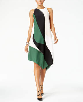 Alfani Asymmetrical-Hem Swing Dress, Created for Macy's