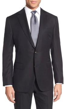 Pal Zileri Men's Classic Fit Wool Blazer