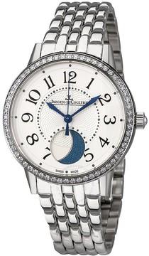 Jaeger-LeCoultre Jaeger Lecoultre Rendez-Vous Silver Dial Ladies Diamond Watch