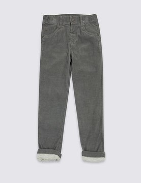 Marks and Spencer Skinny Fit Cotton Rich Trousers (3 Months - 6 Years)