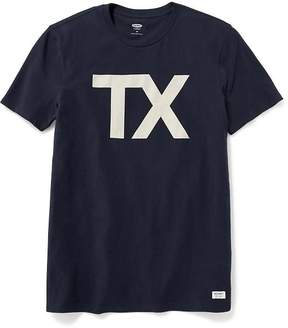 Old Navy Texas-Graphic Tee for Men