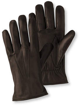 L.L. Bean Men's Touchscreen Casual Leather Gloves