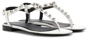 Balenciaga Giant Stud leather sandals