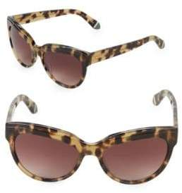 Zac Posen Tennille 56MM Square Sunglasses