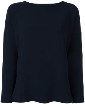 Alberto Biani lateral slit longsleeved blouse