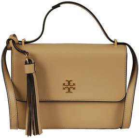 Tory Burch Brooke Shoulder Bag - BEIGE - STYLE