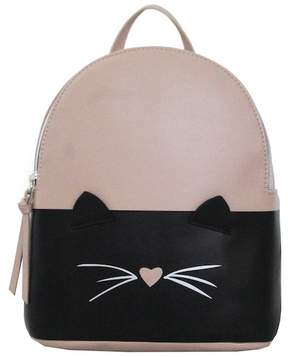 T-Shirt & Jeans Two Tone Cat Small Backpack